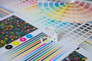 color pallet that shows options with Commercial CMYK Printing