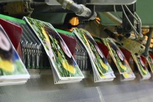 Brochure And Magazine bring printed at Digital Commercial Printing
