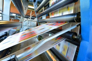 printing being rolled out on Commercial Large Format Printing