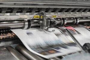 Newspaper Printing Machine