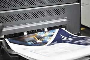 Digital Printing Machine Working