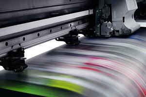 Large Digital Printer Format Working