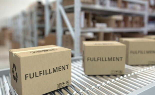 commercial fulfillment services concept