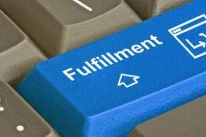 fulfillment key concept on keyboard