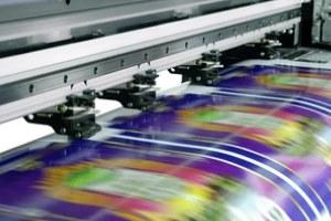 printing machine printing multiple diagrams