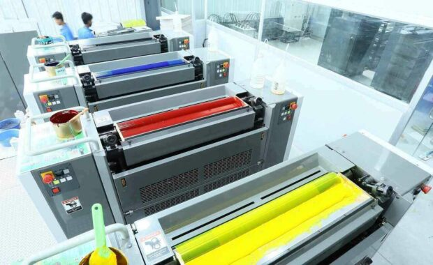 industrial printing machines with compressor project