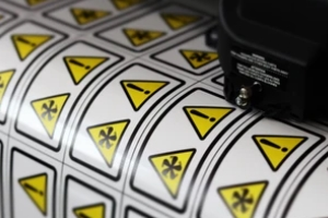 Commercial Sign Printing services cutting stickers