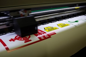 commercial sign printing in the process