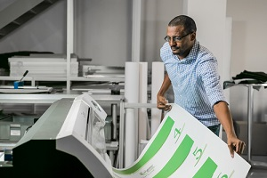 large format digital poster printing service