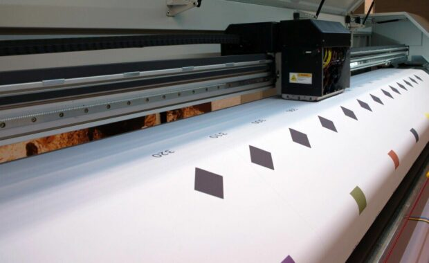 sign printing press large format printer